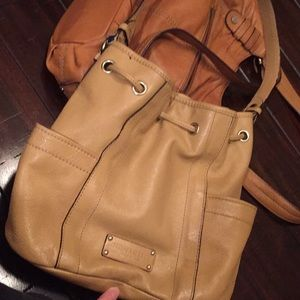 Tignanella Italian leather bag purse Coach MK Frye